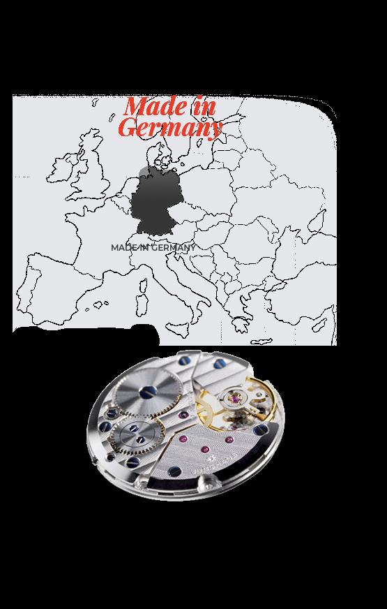 Glashütte, Junghans, német márkák
