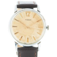 Pobeda with worn dial